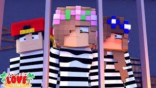 LOCKED UP FOR GOOD! Love Island!   Minecraft Little Kelly