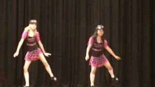 Sarina Premi and Rachael  Tap Duo Topaz  Competition 2010.MP4