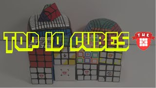 Top 10 Rubik's Cubes In My Collection! || Gemr.com
