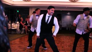 Best Groomsmen Dance Ever!!! - Love Never Felt So Good (Gustavo Vargas)