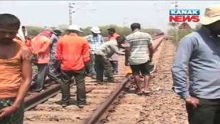 Crack In Train Line, Narrow Escape For Bangiriposi-BBSR Express Passengers