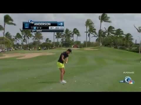 Xxx Mp4 Amy Anderson Halfway Through Rookie Year On LPGA Tour 3gp Sex
