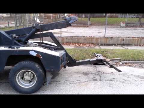 Ford F   L Tow Truck For Parts