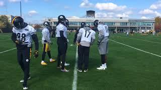Martavis Bryant, Steelers WR practice to