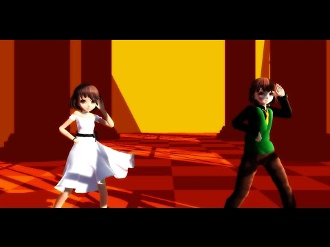 Xxx Mp4 Mmd Undertale Chara And Frisk クラブナイトメア 3gp Sex