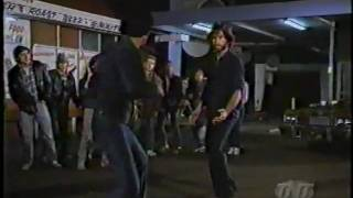 CHiPs - Ponch has a Karate battle with a gang leader from the old neighborhood