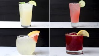 DIY Simple Syrups To Make 4 Delicious Spring Cocktails • Tasty