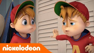 ALVINNNN!!! and the Chipmunks | Doppio Alvin | Nickelodeon
