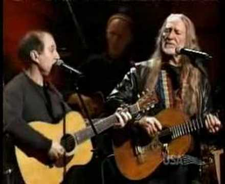 Paul Simon and Willie Nelson Homeward Bound