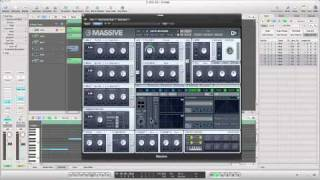 How to make a dirty dubstep bass with massive