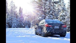 2018 Subaru Legacy 3.6R-- snow-day play!