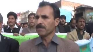 Dr Wajid Ali Khan ki Qatal ky Khelaf Ihtijaji Muzahera