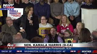 WATCH: Kamala Harris Says The Economy Isn