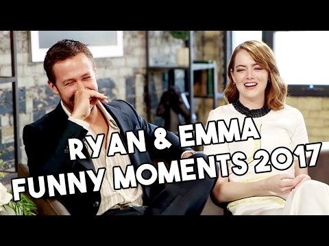 Download Ryan Gosling and Emma Stone | La La Land | Funny Moments 2017