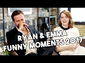 Download Lagu Ryan Gosling and Emma Stone Funny Moments 2017