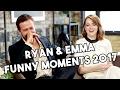 Download Lagu Ryan Gosling And Emma Stone | La La Land | Funny Moments 2017