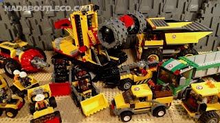 LEGO City All Mining Vehicles