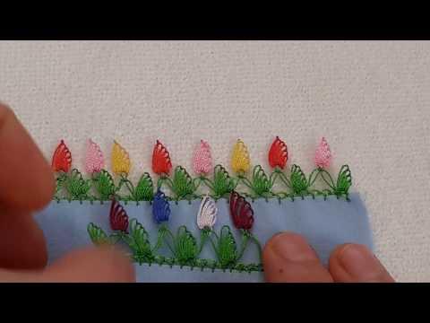 İğne Oyası modelleri Yaprak İğne Oyası Örnekleri Yapılışı,iğne oyası videoları