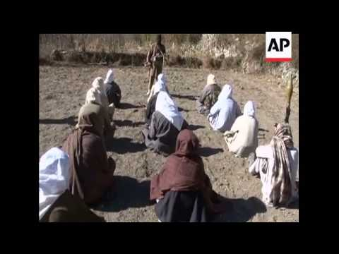 Raw video of Taliban fighters in area of Pakistan that Pakistani military claims to have under contr