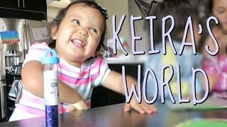 KEIRA'S WORLD! - July 08, 2016 -  ItsJudysLife Vlogs