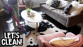 CLEAN WITH ME | My House Was DESTROYED!