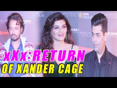 RED CARPET PREMIERE OF MOVIE XXX RETURN OF XANDER CAGE