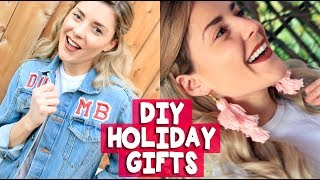 CHEAP & EASY DIY HOLIDAY GIFTS // Grace Helbig