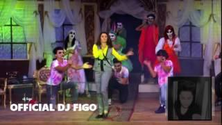فيجو مسرحيه بيت العفاريت غناء ياسر الطوبجى ومروه عبد المنعم وفيجو ومدنى