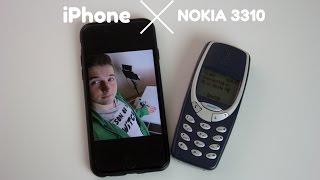 Nokia 3310 vs iPhone 6S
