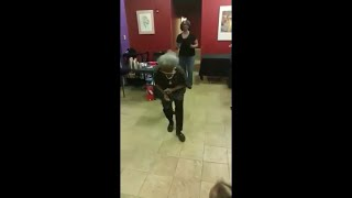 Granny Take over the Dance Floor with Some Nice Dance Moves and It Ain't Twerking