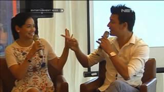 Pasangan romantis Titi Kamal dan Christian Sugiono