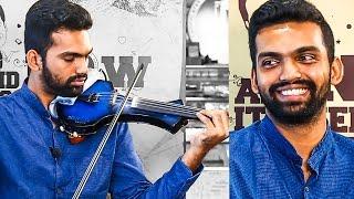 THERI Violinist: A Musical Conversation with Manoj Kumar   Ilayathalapathy Vijay   MY 74