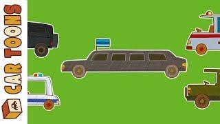 Car Toons compilation. Kids
