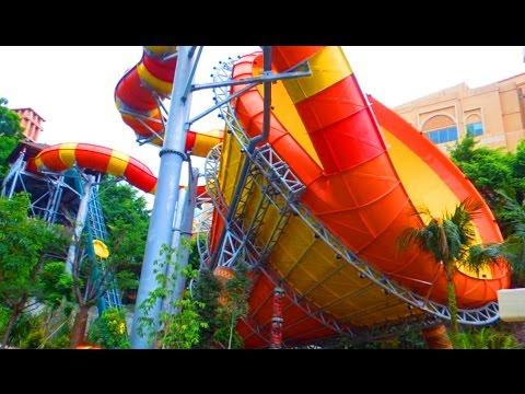 World's Largest Vortex Water Slide 2016 POV - The VUVUZELA
