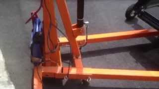electric engine lift conversion