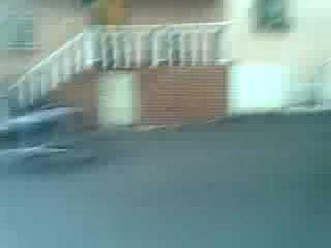 moto pirueta calle el medio