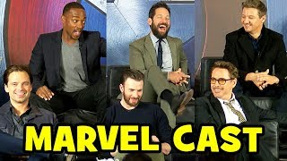 CAPTAIN AMERICA: CIVIL WAR Cast Interviews - FULL European Press Conference