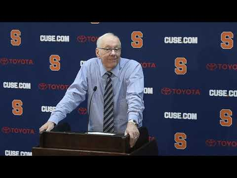 Xxx Mp4 Jim Boeheim Postgame News Conference After Syracuse Basketball Vs Old Dominion 2018 3gp Sex