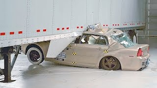 Cars vs SemiTrailers – Side Underride Crashes [YOUCAR]