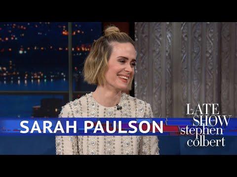 Xxx Mp4 Sarah Paulson Hasn T Seen Bird Box Yet 3gp Sex