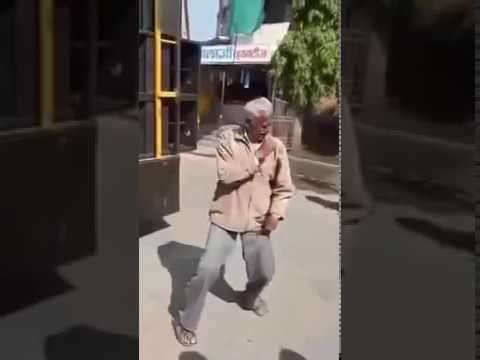 Indian Grandpa Lock and Pop Dance Audition for All India Desi Stars