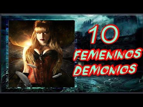 10 TIPOS DE DEMONIOS SEXUALES FEMENINOS lOQUENDO 2015