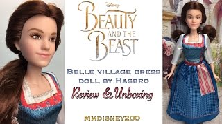 Beauty and the Beast Live action: BELLE Hasbro Doll Review & Unboxing