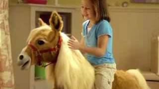 butterscotch Fur Real Pony