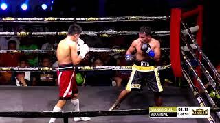 Ben Mananquil vs Jess Rhey Waminal OPBF Silver Bantamweight