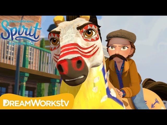 The Mustachioed Stranger | SPIRIT RIDING FREE