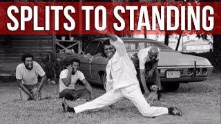 How To Do The Splits To Standing (James Brown Splits / Jazz Splits)