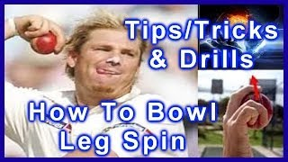HD Cricket Leg Spin Bowling Tips Video - How to Bowl Leg Spin like Shane Warne Step by Step