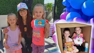 Mailing Myself in a Box to Cookie Swirl C in Real Life! Human Mail Challenge Worked!