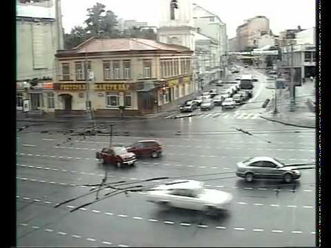 Rusya da Trafik Kazaları